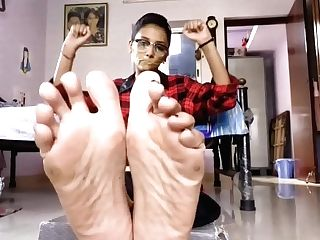 21yr Indian Feet